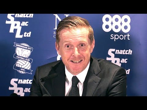 Garry Monk First Full Press Conference As Birmingham City Manager