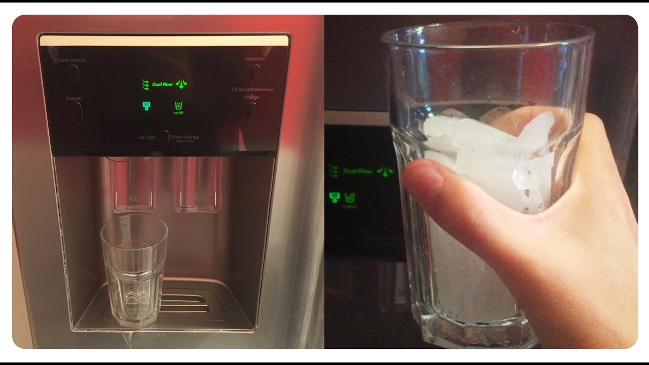 Side By Side Kühlschrank Hanseatic Test : Samsung side by side ice crusher crushed ice eis water
