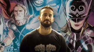 CM Punk Writing for Thor Comic Book - #CUPodcast