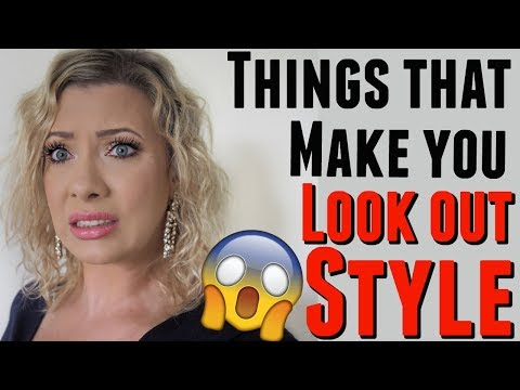 THINGS THAT ARE OUT OF STYLE IN YOUR CLOSET: tips from a stylist