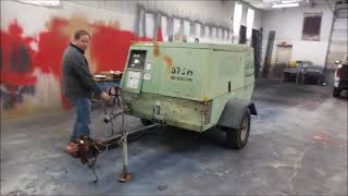 Sullair 375H air compressor for sale at auction | bidding closes May 3, 2018