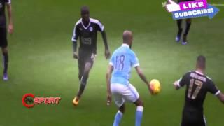 Manchester City vs Leicester City 1   3   Premier League 06 02 2016