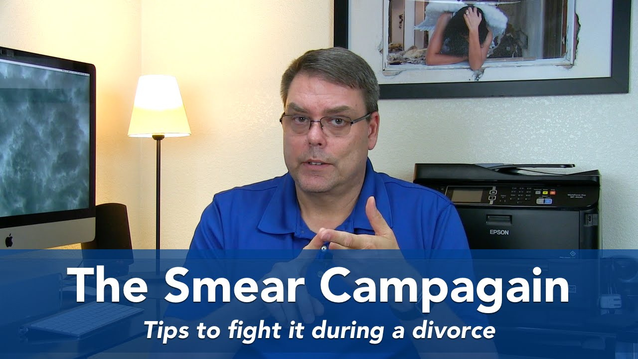 The Smear Campaign During Narcissistic Divorce