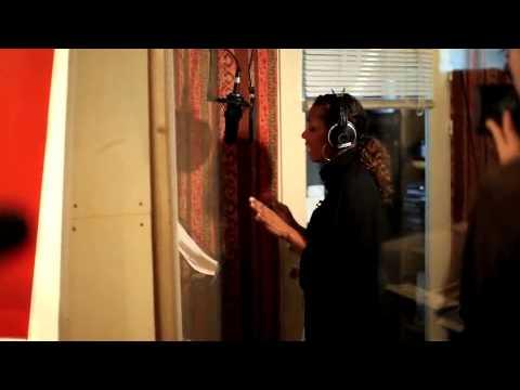 "Ida Corr // Haiti support song ""Skrøbeligt Fundament"" (in the Studio) // 20th Jan. 2010"