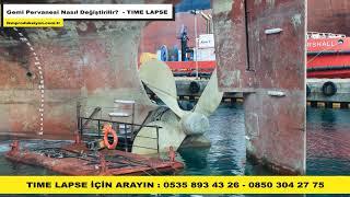 Gemi Pervanesi Nasıl Değiştirilir - İkm Prodüksiyon