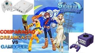 Dreamcast vs Gamecube: Skies of Arcadia (Comparison 1080p)