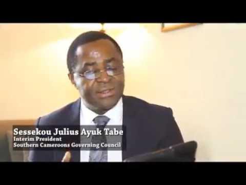 Video of Sisiku AyukTabe addressing Southern Cameroons