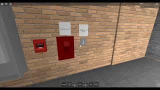 Fire alarm test at SunBlox Middle School Roblox