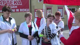 TKB - Protest przed szpitalem - 14.05.2014