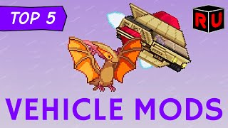Top 5 Starbound Vehicle Mods: Shuttles, Submarines & More! | Best Starbound 1.0 mods