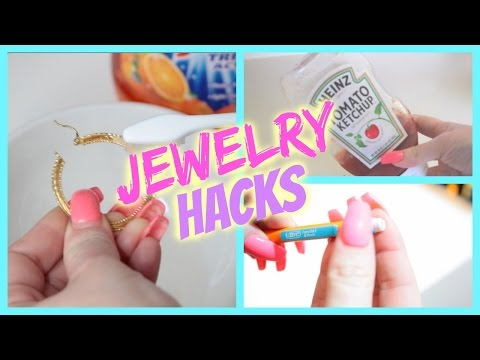 Jewelry Life Hacks - Cleaning Jewelry, Storage, Tips & Tricks