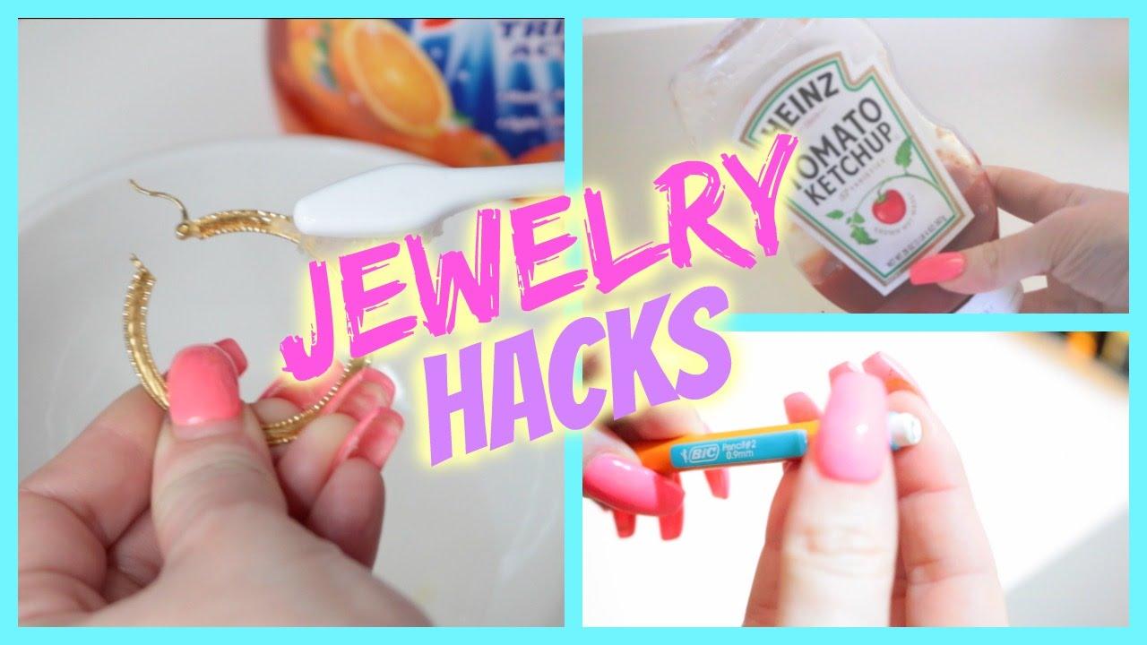 Jewelry Life Hacks Cleaning Jewelry Storage Tips Tricks YouTube
