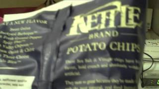 Kettle Chips Salt and Vinegar Potato Chips Review!