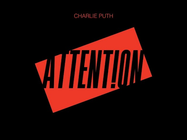 Charlie Puth Attention Official Instrumental