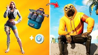 *NEW HOME PACK* ALL BAILES, CAMOUFLAGES AND SKINS FILTERED!! Fortnite: battle royale