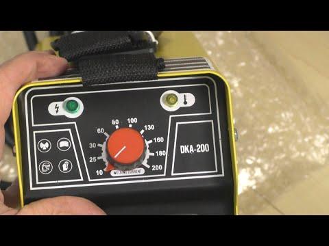 На что способен сварочный аппарат DEKO DKA-200 из Китая? Инструмент из Китая