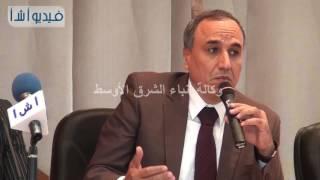 بالفيديو: عبد المحسن سلامة يعرض برنامجه الانتخابى بوكالة أنباء الشرق الأوسط