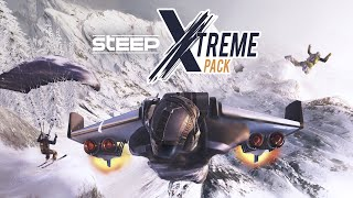 [FR] STEEP : EXTREME PACK DLC , ROCKET WING + BASE JUMP + SPEED RIDING (rediff De live)
