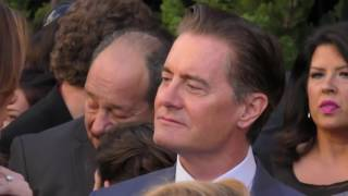 Kyle Maclachlan And Desiree Gruber At The Twin Peaks Premi At Ace Hotel In Los Angeles