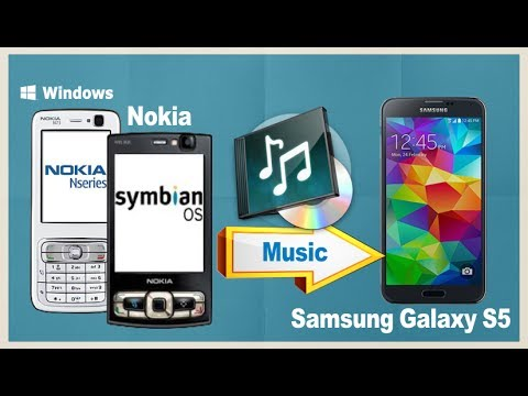 Nokia Music to Galaxy S5: How to Sync Music from Nokia to Samsung Galaxy S5