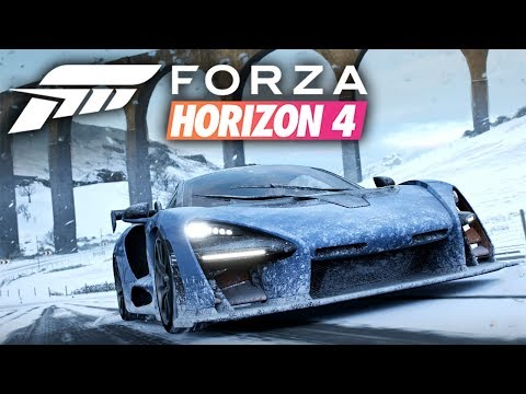 open world racing forza horizon 4 gameplay xbox one x. Black Bedroom Furniture Sets. Home Design Ideas