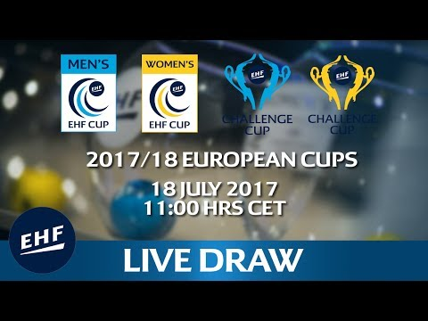 2017/18 European Cup competitions draw