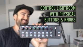 Control Lightroom with Physical Buttons & Knobs: X-Touch Mini Tutorial