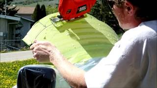 Trimming Motorcycle Windshield