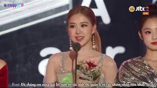[Vietsub] 181201 BLACKPINK WIN Best Dance (Female) @MelOn Music Awards 2018