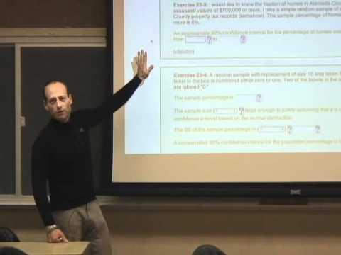 Statistics 21 - Lecture 22