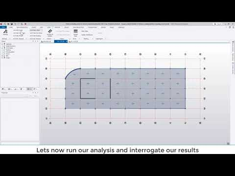 Tekla Structural Designer 2020 - When, why and how to use pattern loading