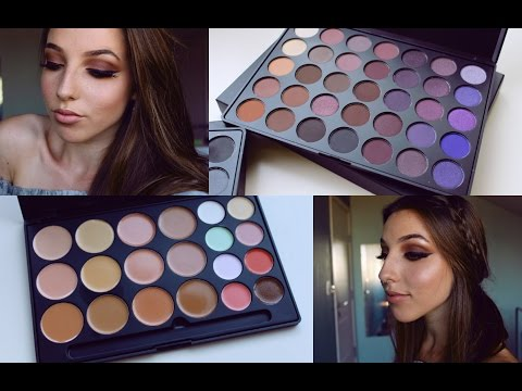 BOHEMIAN Makeup & Hair Tutorial | MORPHE 35P Palette | Morgan Cohen