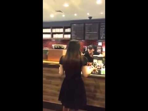 ( Full Video ) Angry Starbucks Manager blows up at customer in NY
