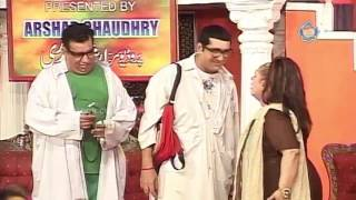 Zafri Khan and Nasir Chinyoti New Pakistani Stage Drama Full Comedy Clip