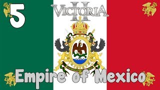 Victoria 2 HFM mod - Empire of Mexico 5