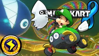 Mario Kart 8: Lightning Cup 150cc Rainbow Road & New Character Gameplay Walkthrough PART 8 Wii U HD