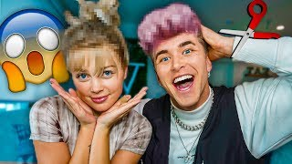 WE GOT NEW HAIR AND DIDN'T TELL EACH OTHER! *CHALLENGE*
