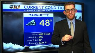 Upper Peninsula Weather Forecast - June 12, 2019