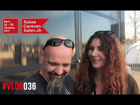 Suisse Caravan Salon 2017 - BernExpo #Vlog036