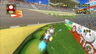 [MKWii TAS] Luigi Circuit - 01:08.994
