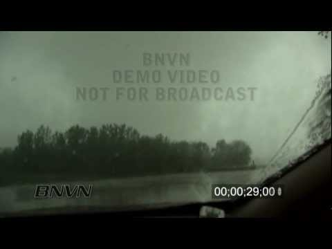 5/13/2009 Kirksville, MO Hit By The Tornado Part 2 - Insane Video Being Hit By A Tornado