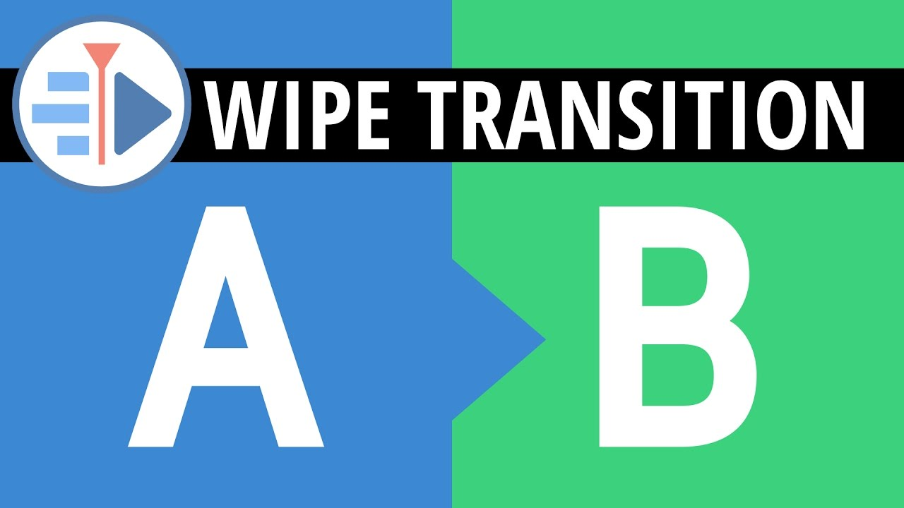 wipe transitions