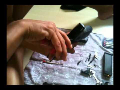 1.การถอดทำความสะอาดแบบละเอียด Glock 19