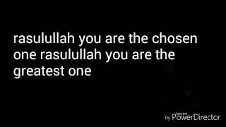 Rasulullah we love you // gen halilintar