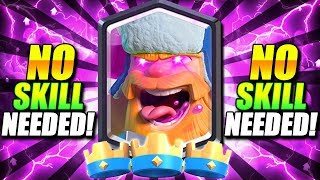 #1 EASIEST DECK IS TAKING OVER CLASH ROYALE!! NO SKILL NEEDED!!