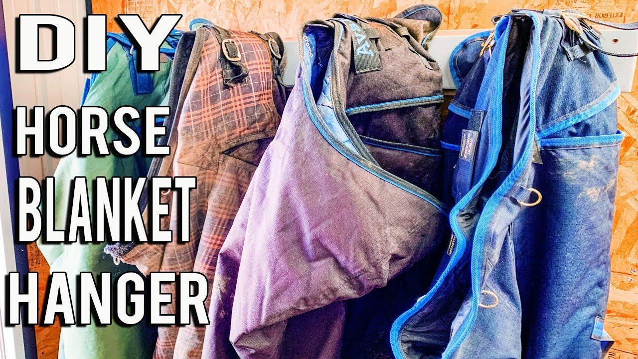 How To DIY A Horse Blanket Hanger