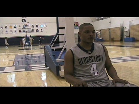 Georgetown's Chris Wright Discusses Upcoming Season
