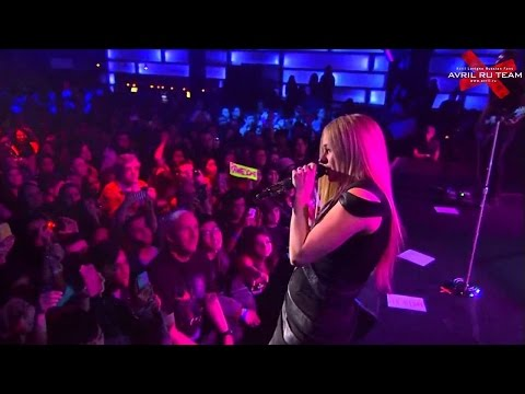 Avril Lavigne - Live at Highline Ballroom, NY - Full concert 03/12/2013
