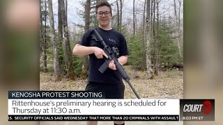Kenosha protest shooting: accused shooter #kylerittenhouse is scheduled to appear for a hearing thursday at 11:30 a.m.rittenhouse's remote...