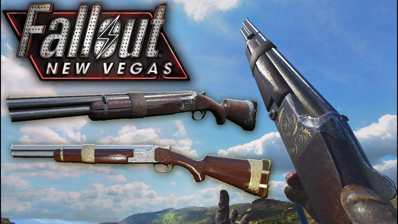 [Black Ops 3 Mod Tools] Fallout New Vegas: Caravan Shotgun